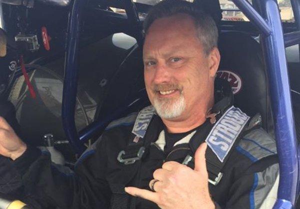 "Image of street car racer, James Love ""Doc"""